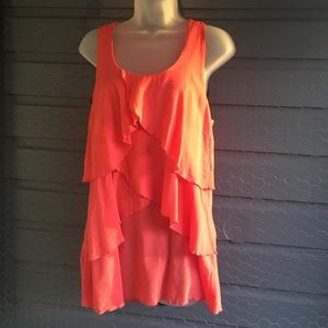 Tops - 🌼🌸End of Summer Sale🌸🌼 Sleeveless coral top